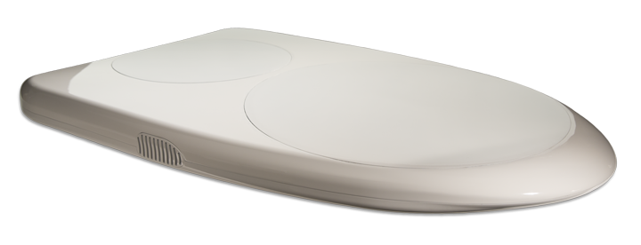 ThinSat 300 Cover On - White