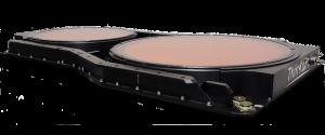 Aeronautical Ka-band antenna for MEO