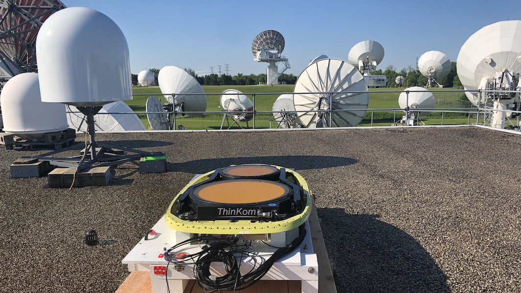 ThinKom Telesat LEO Test